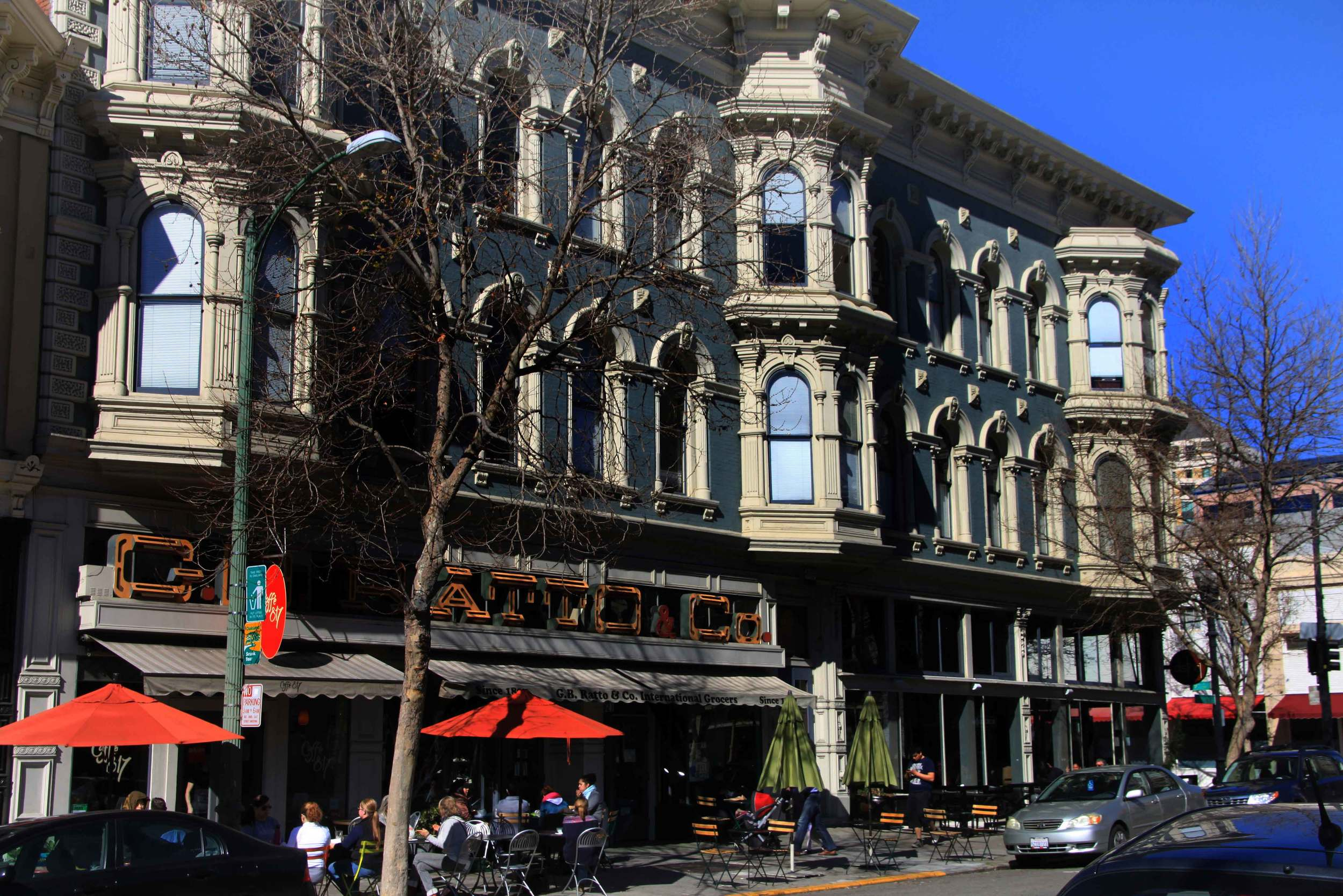 Historic District, Downtown Oakland, Ca © Joanne DiBona