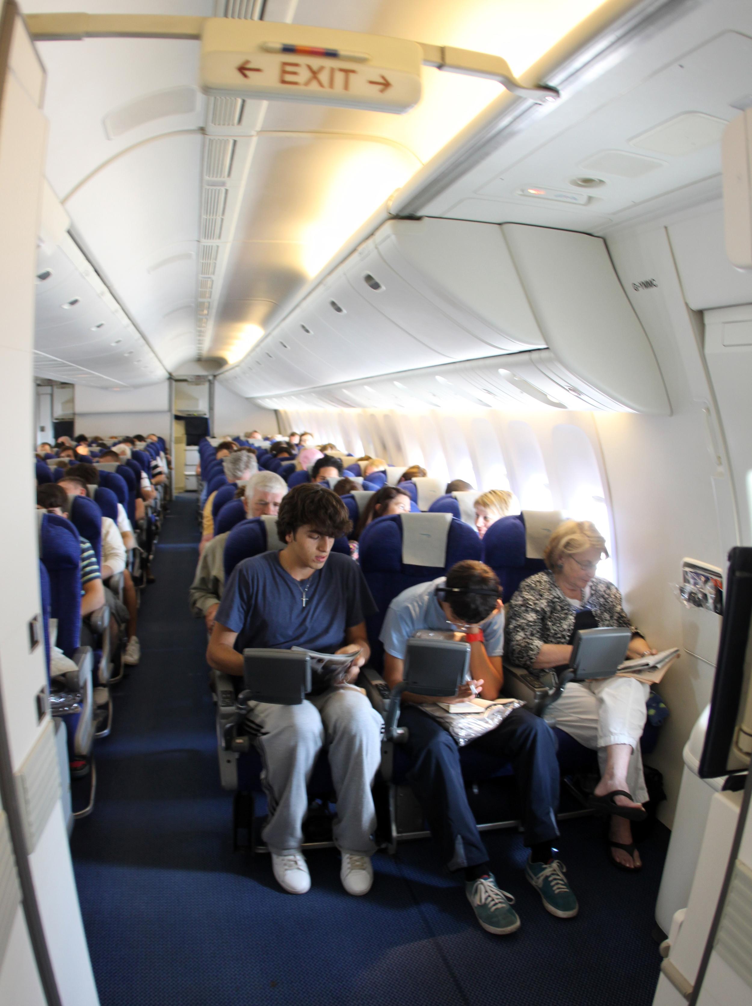 British Airways World Traveler Coach