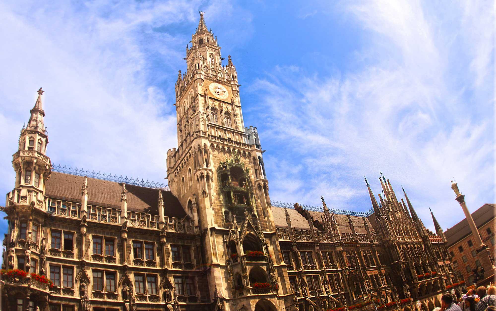 Marienplatz, Munich Bavaria Germany  © Joanne DiBona