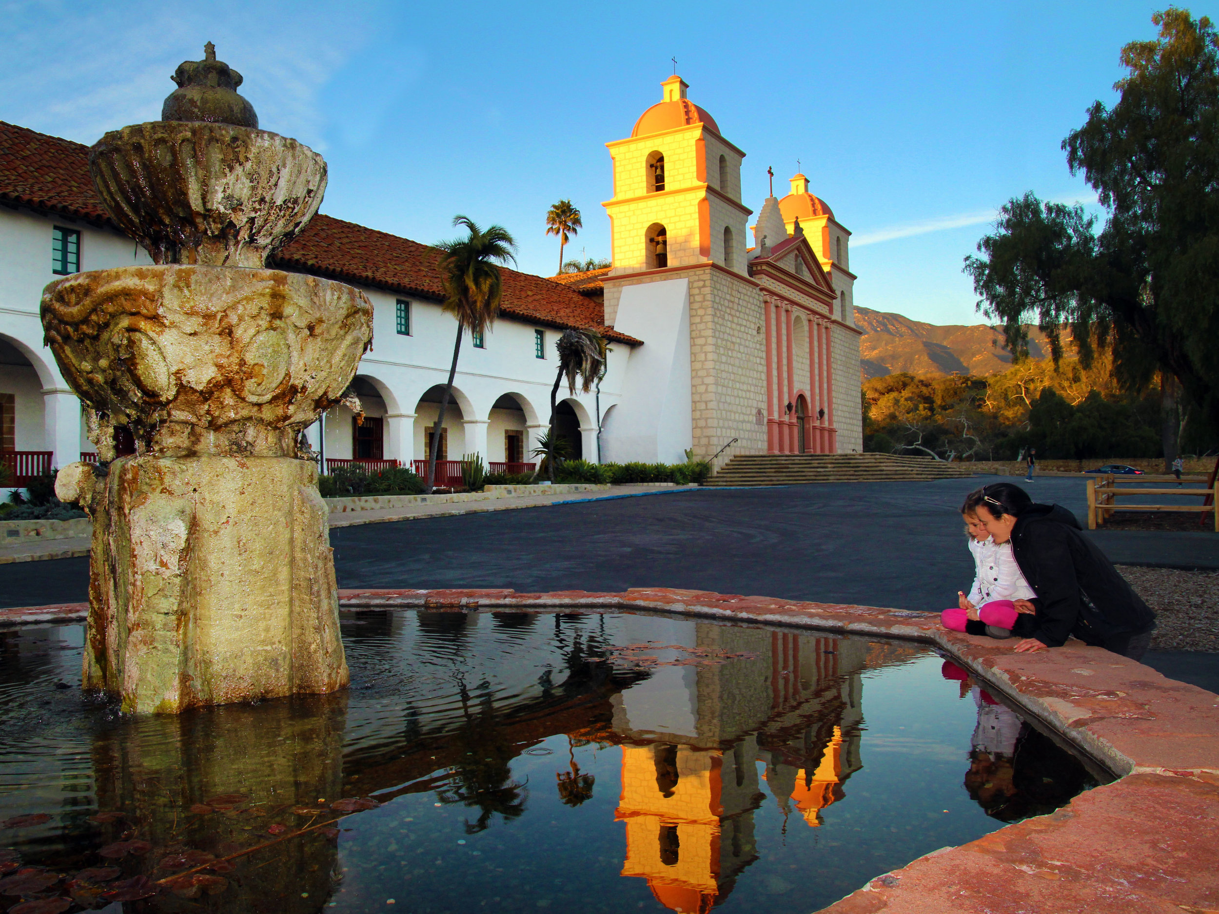 Old Santa Barbara Mission   © Tony DiBona