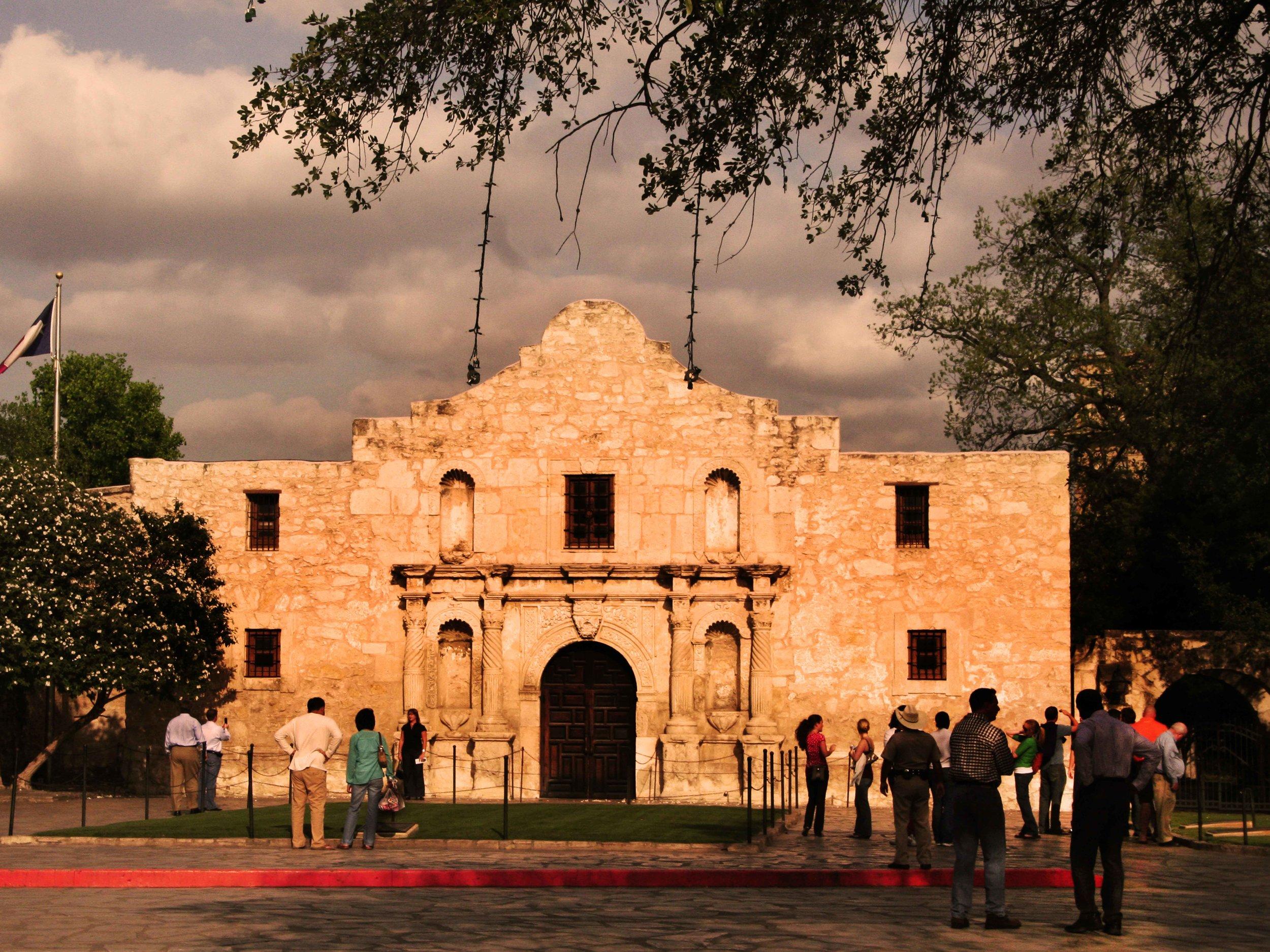 The Alamo at Sunset  © Joanne DiBona