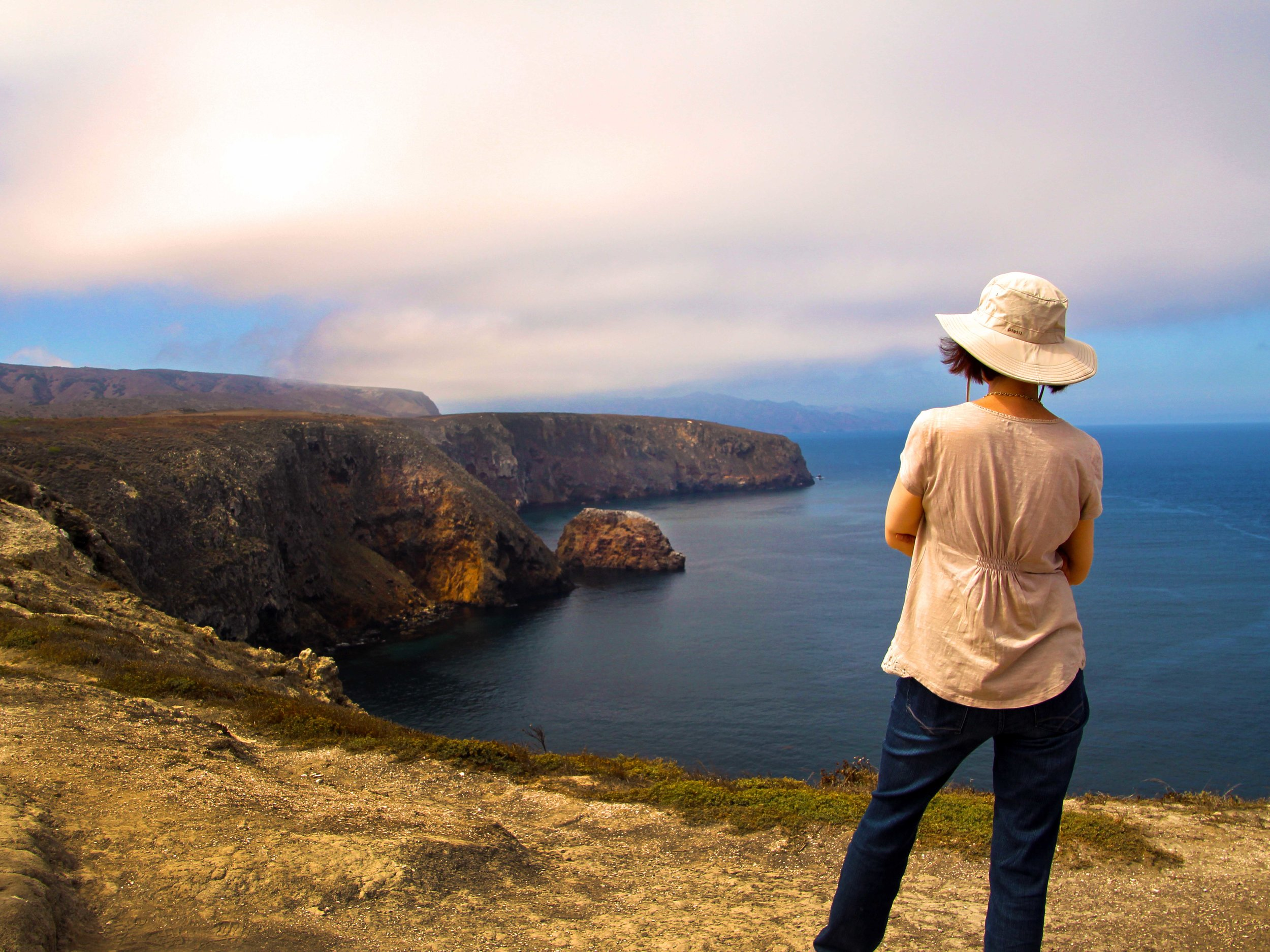 Santa Cruz, Channel Islands National Park, View on Cavern Point  © Joanne DiBona