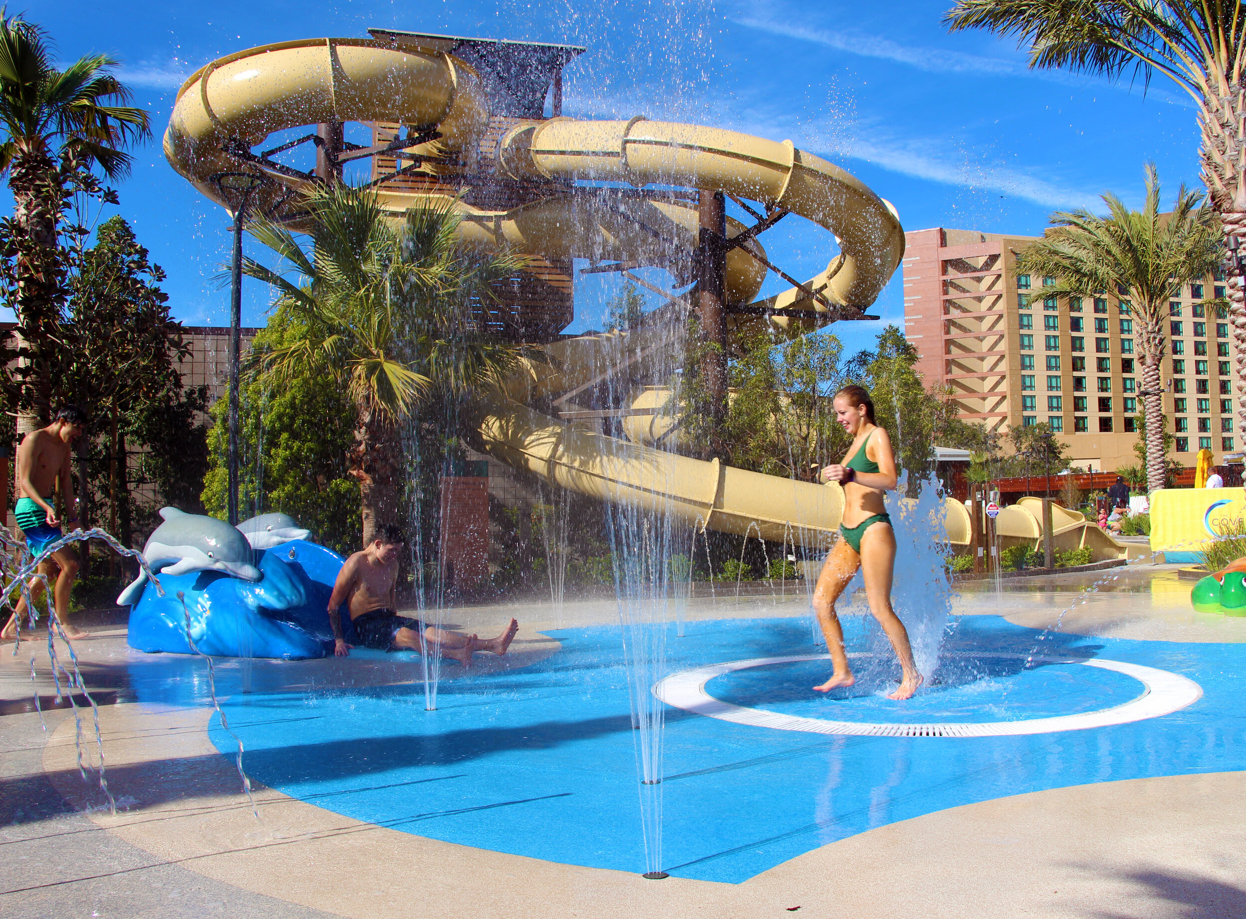 The pool complex at the Pechanga Resort Casino is a destination in itself! © Tony DiBona Photography