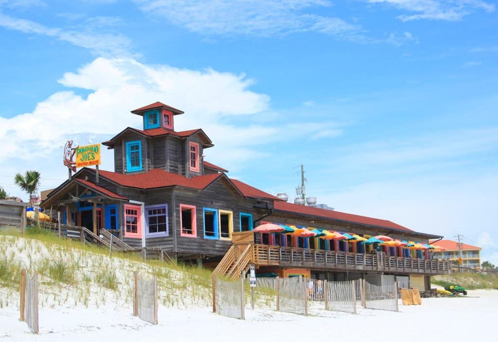 Pompano Joe's on the beach in Destin, FL