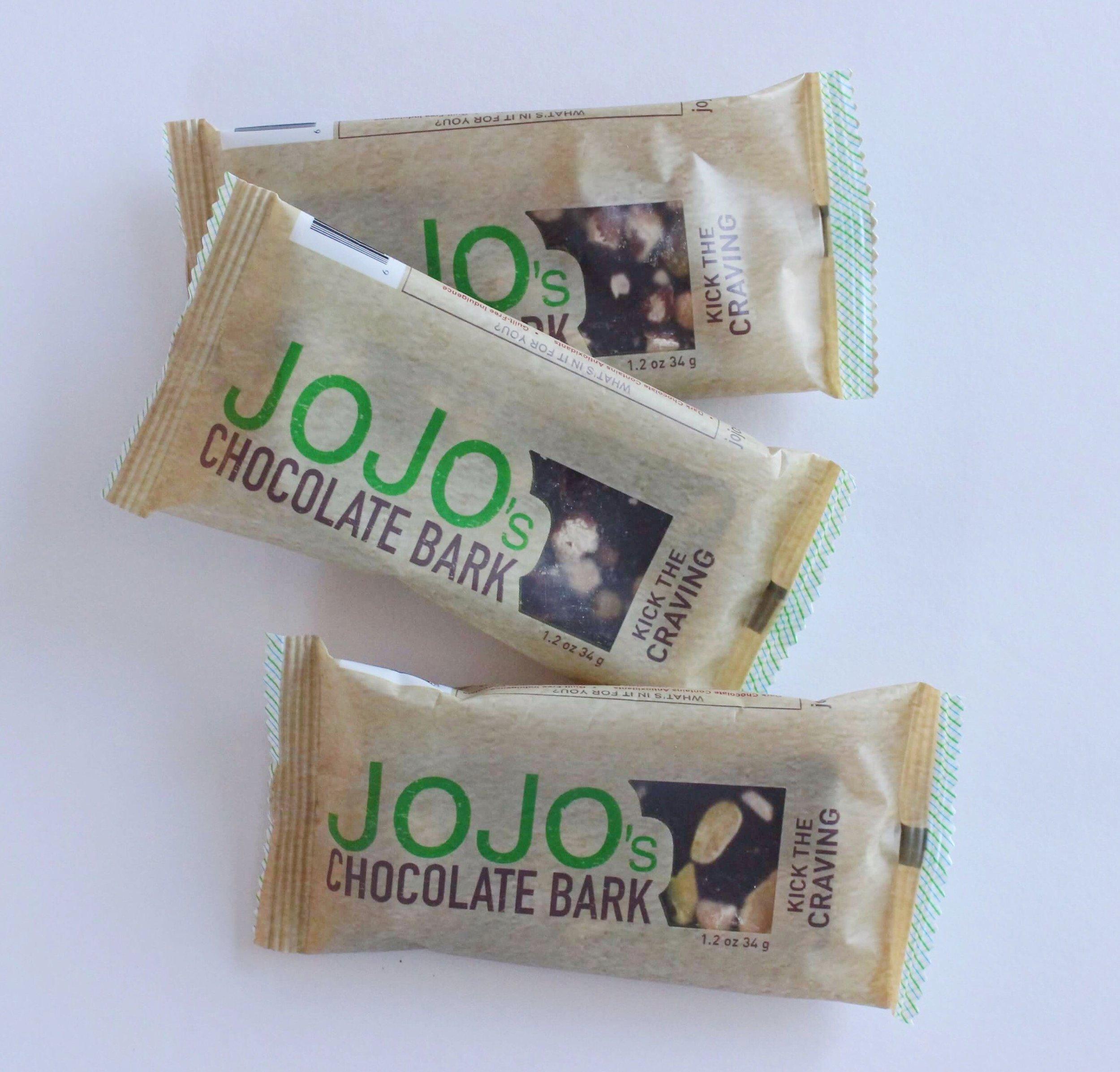 Jo Jo's chocolate bars