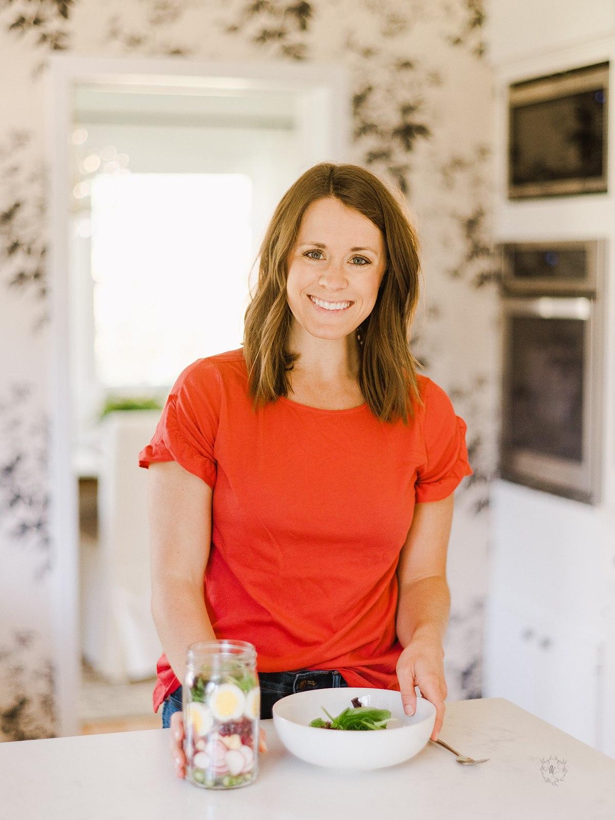 Kara in the kitchen