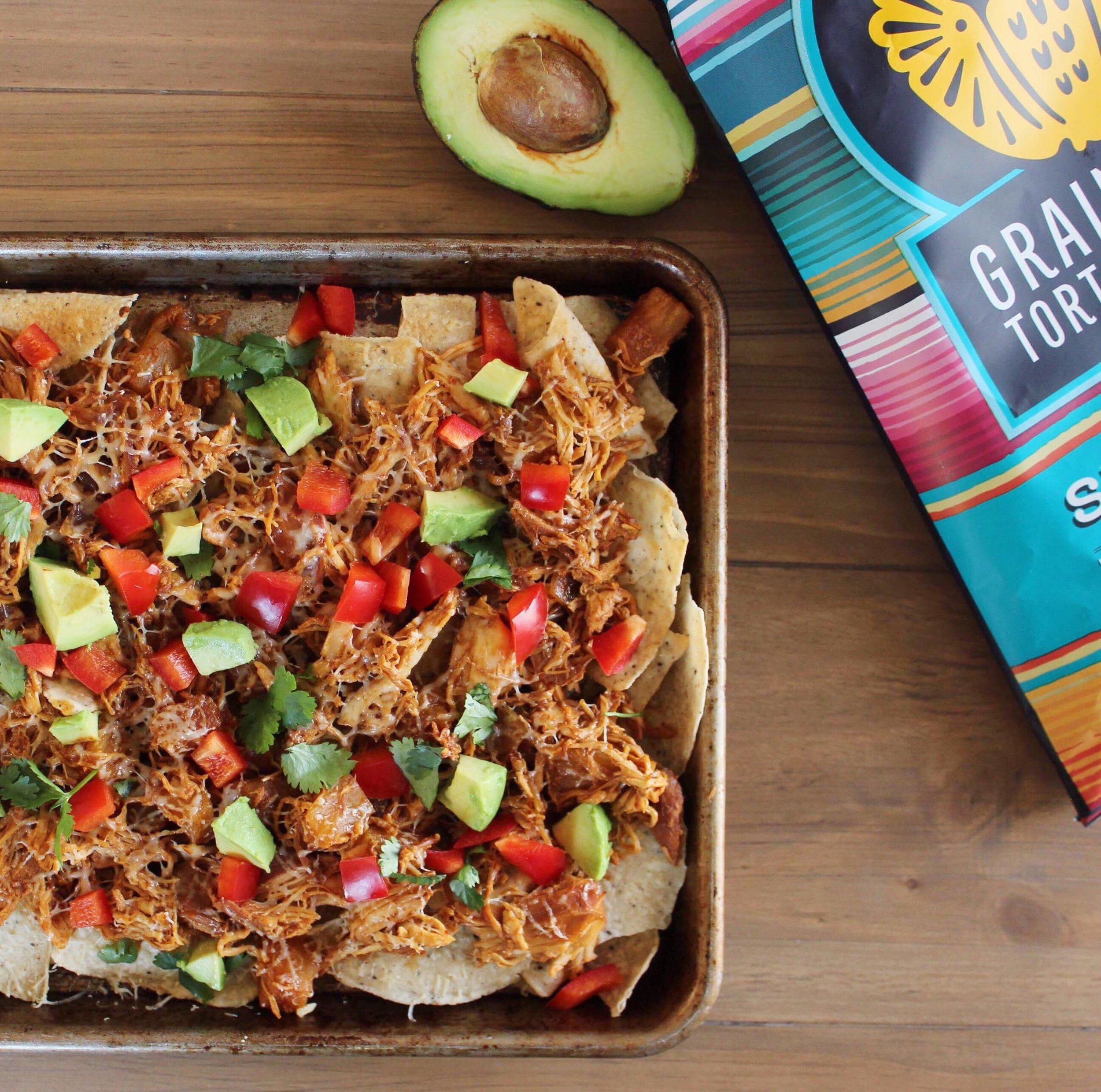 healthy hawaiian chicken nachos