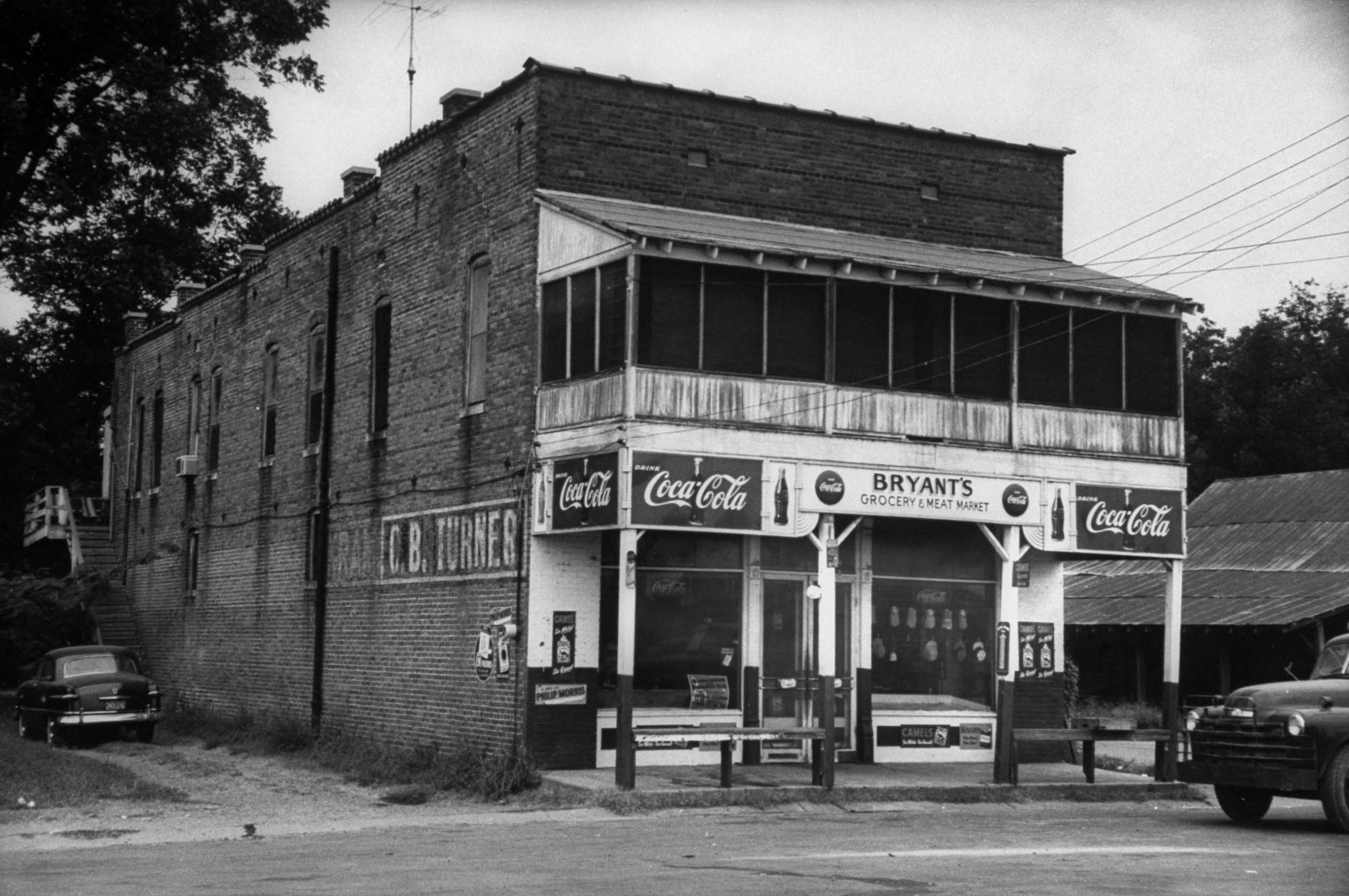 Bryant's grocery store where Emmett Till allegedly whistled at white store owner, Carolyn Bryant. (Photo By Ed Clark/The LIFE Premium Collection/Getty Images)