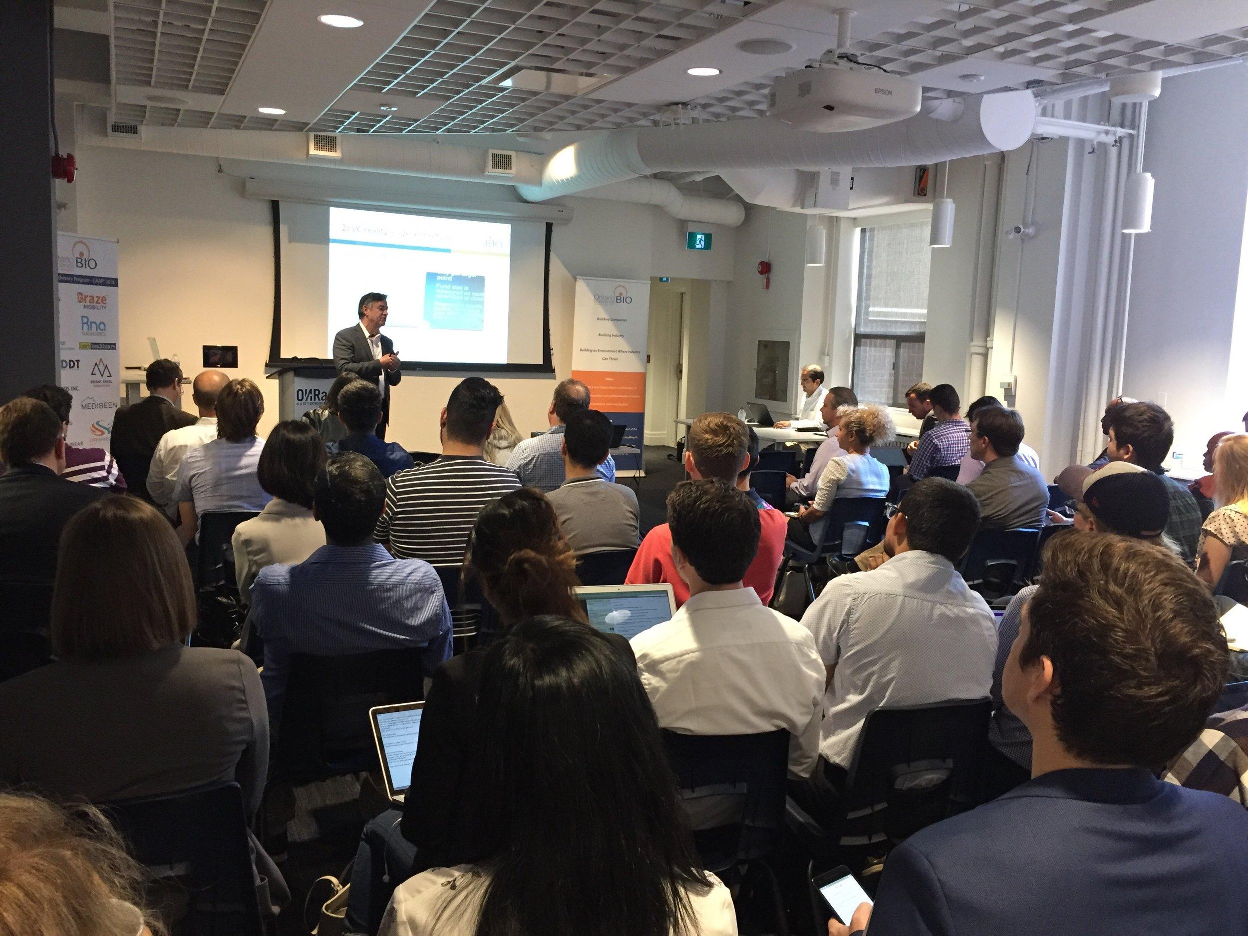 June 25 2018 - Photo - OBIO event - How Do VCs Value Health Science Companies.jpeg