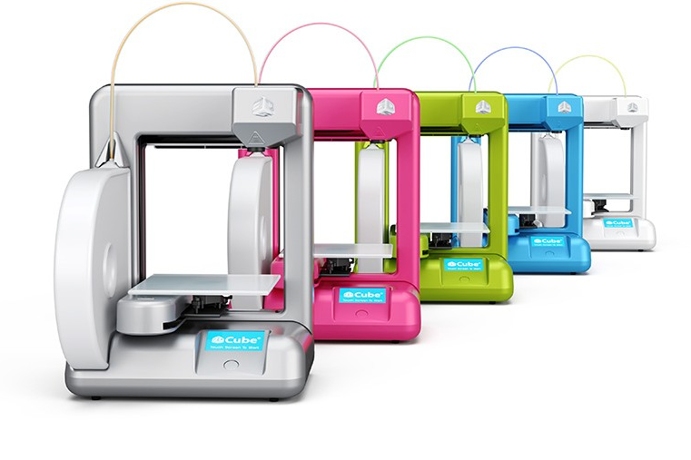 Cube 3D Printer. Source: 3D Systems