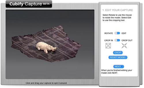 Cubify Capture. Source: 3D Systems