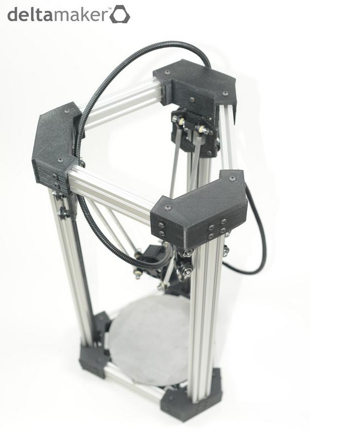 DeltaBot 3D Printer. Source: DeltaMaker
