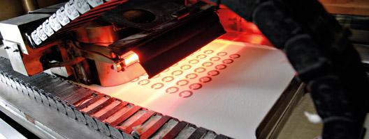 High-speed sintering process. Source: Loughborough University