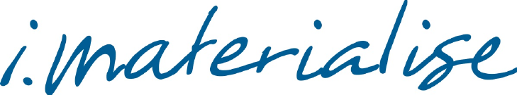 i.materialise logo. Source: i.materialize.com