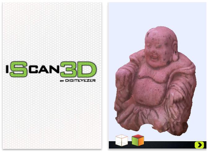 iScan3D App screenshot