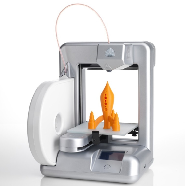 Cube 3D printer by 3D Systems. Source: Cubify.com
