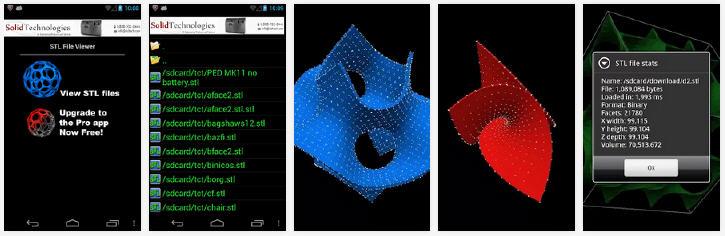Screenshot of the Solid Tech app. Source: Barry Thomas on play.google.com
