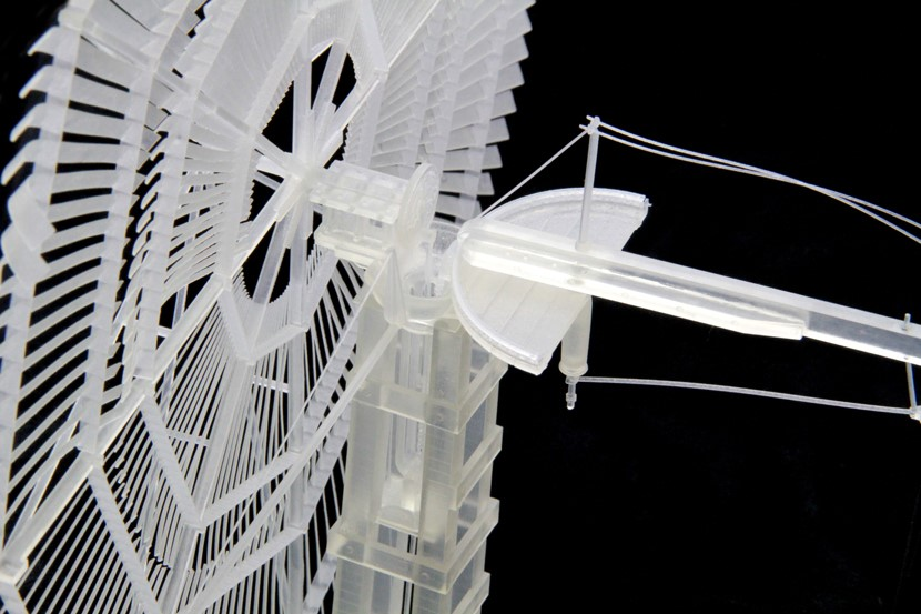3D Printed Windmill Model. Source: WhiteClouds