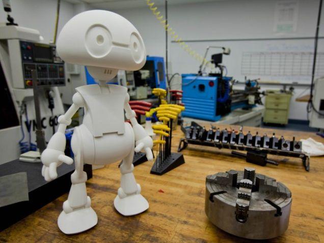 3D printed robot Jimmy. Source: Intel