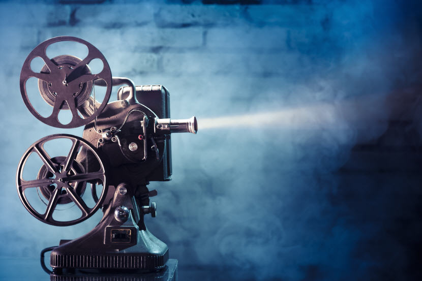 Movie Projector. Source: Shutterstock