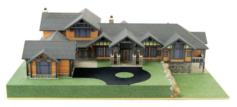 3D Printed Home Model. Source: WhiteClouds