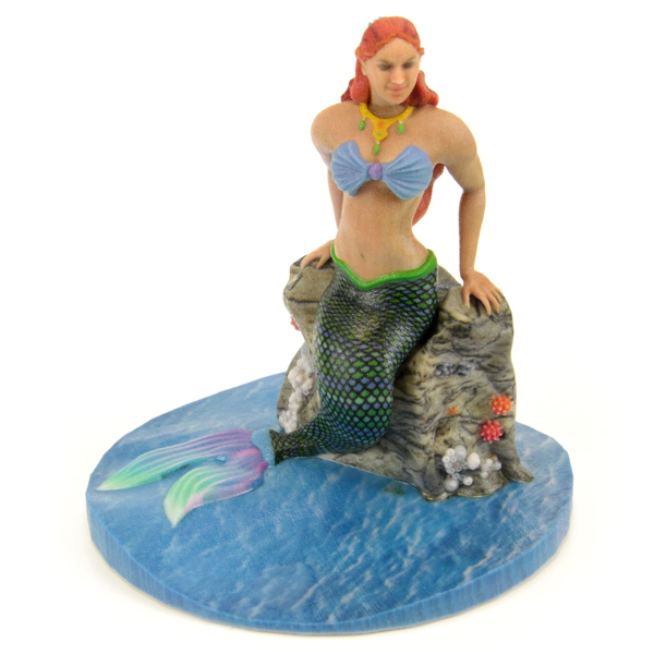 3D printed The Little Mermaid figurine. Source: WhiteClouds