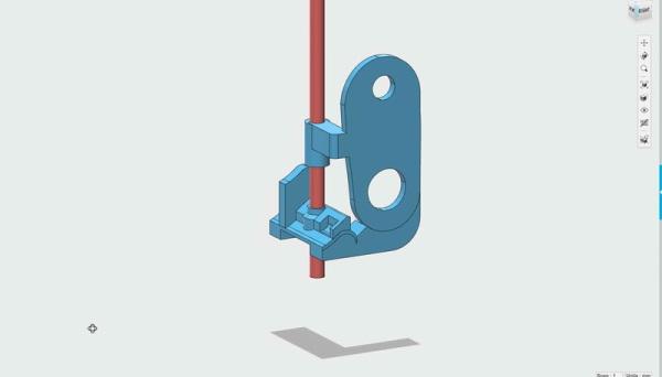 Extruder upgrade for the PrintrBot 3D printer to use NinjaFlex filament. Source: Adafruit