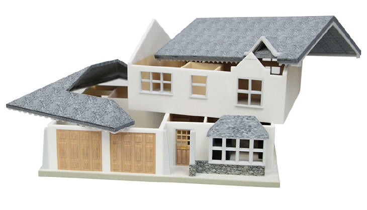 3D printed scale home model. Source: WhiteClouds