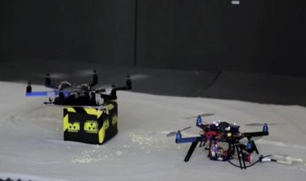 Flying 3D printer. Source: The Aerial Robotics Lab