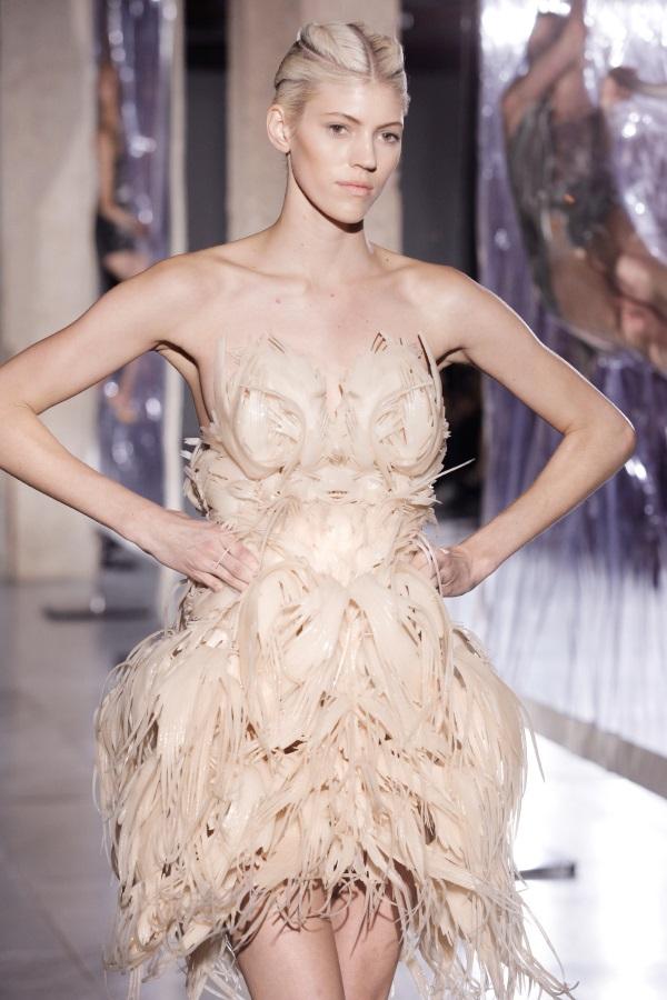 Iris van Herpen Biopiracy and 3D Printed Flexible Dress. Source: Iris van Herpen