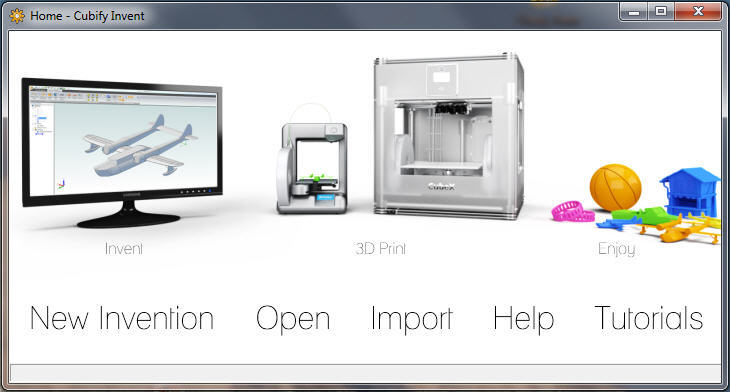 Cubify Invent. Source: 3D Systems