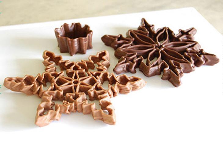 3D printed chocolate. Source: Jonathan Keep