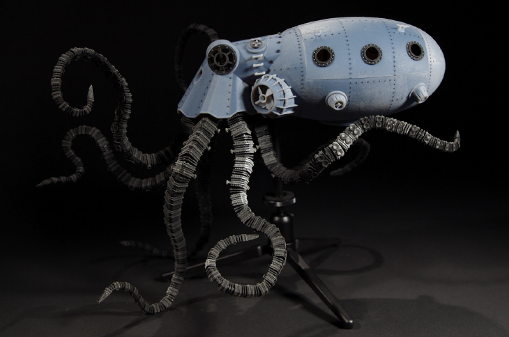 OctoPod Underwater Salvage Vehicle or O.P.U.S V. Source: Sean Charlesworth