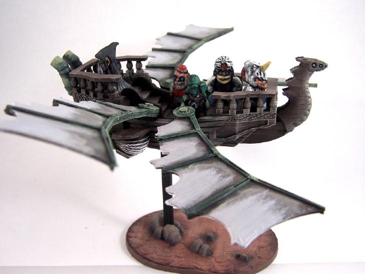 Flight of the Wind steampunk 3D print. Source: dutchmogul/Thingiverse.com