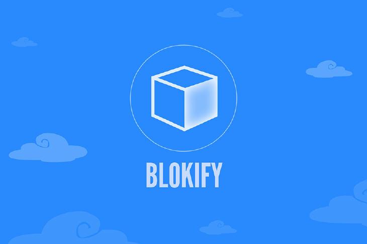 Blokify logo. Source: Blokify