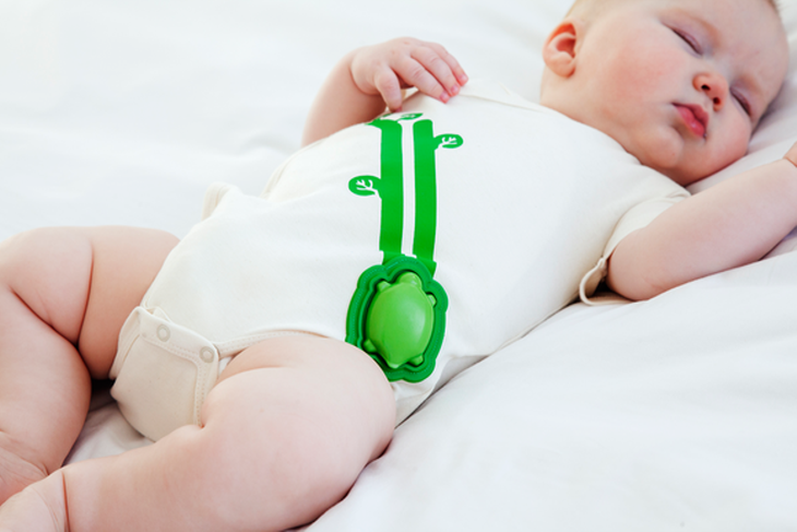 Mimo smart baby monitor onesie. Source: Mimo