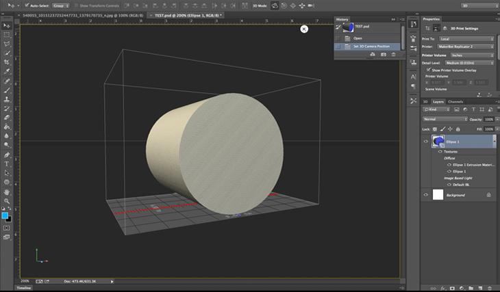 Photoshop 3D Design Software