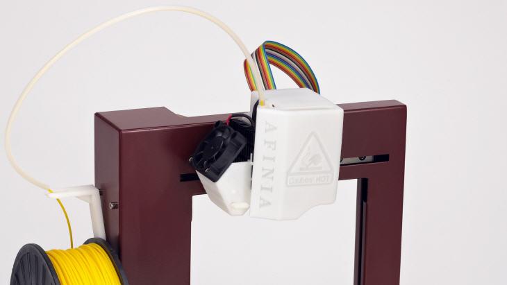 Print head of the Afinia 3D printer. Source: Afinia