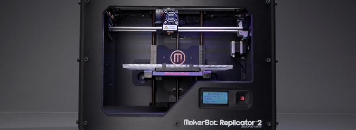MakerBot 3D Printer. Source: MakerBot.