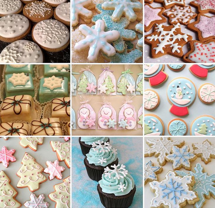 3D Printed Snowflake Christmas cookies. Source: Paula Fernanda on flickr.com