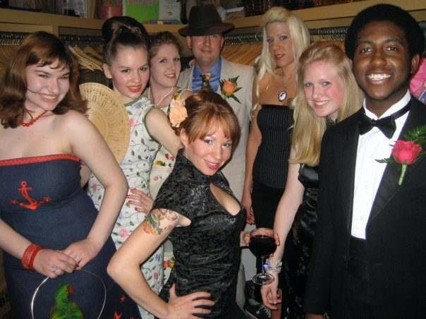The Time Bomb models from our first fashion show in 2009