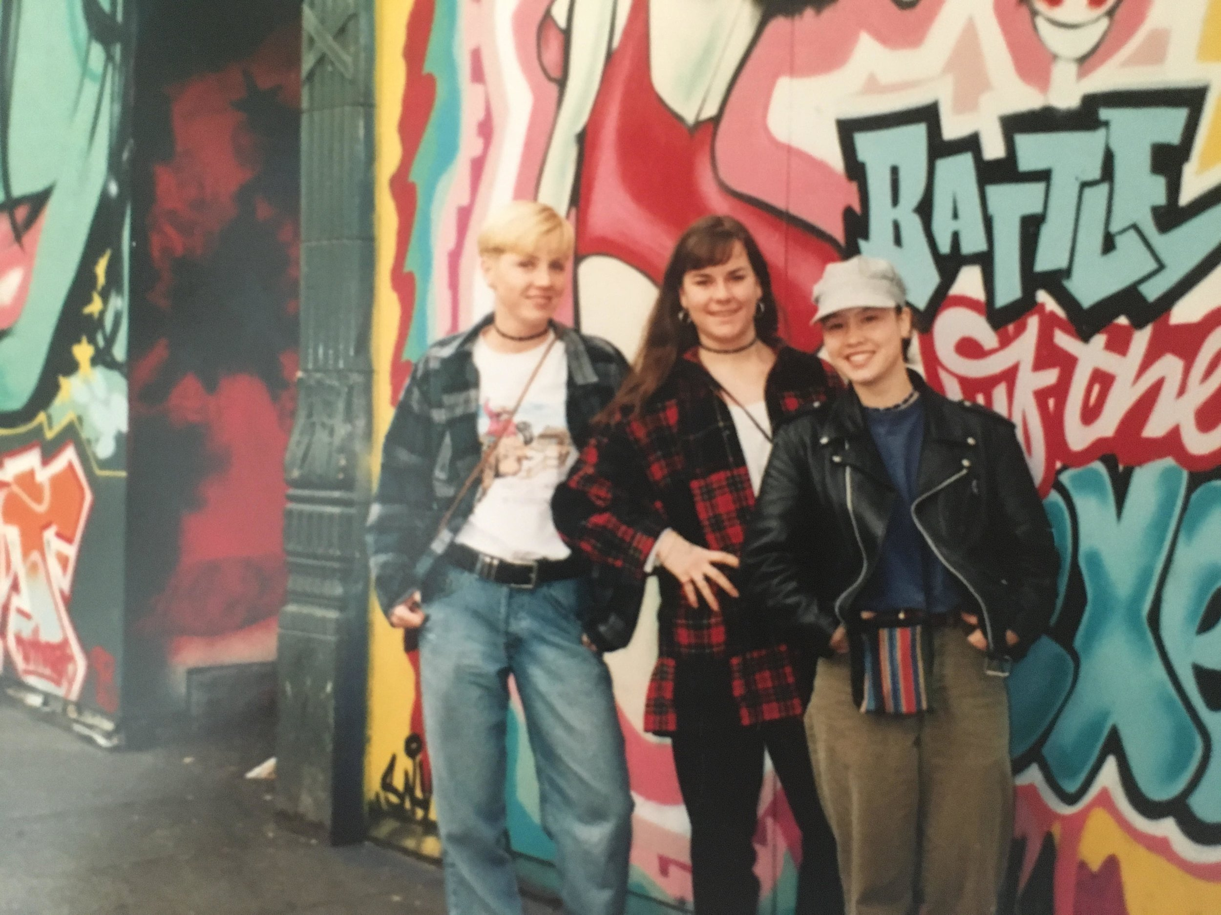 I'm on the left-- Spending money I didn't have on a weekend trip to Seattle, 1994