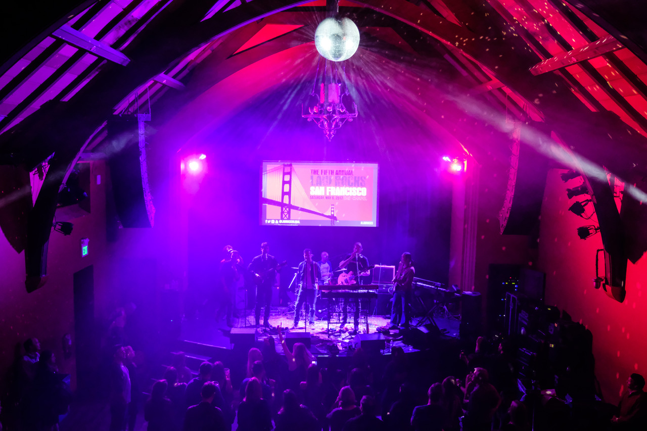 6 May 2017, The Fifth Annual Law Rocks San Francisco at The Chapel