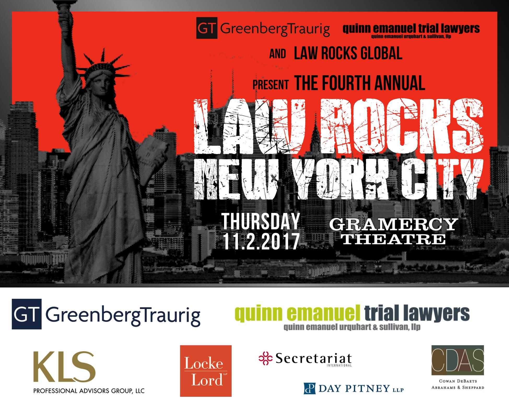 Law Rocks NYC