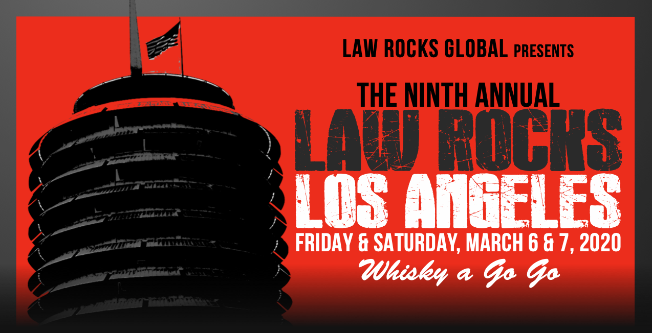 Charity Events In Los Angeles December 2020.9th Annual Law Rocks Los Angeles March 6 7 2020 Law Rocks