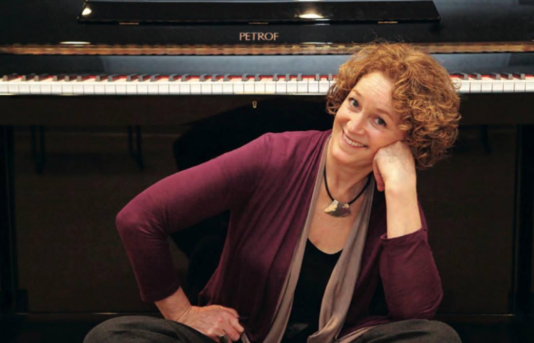 Palisades Music School owner Jy Gronner uses the Australian-based Simply Music method.  Photo: Bart Bartholomew