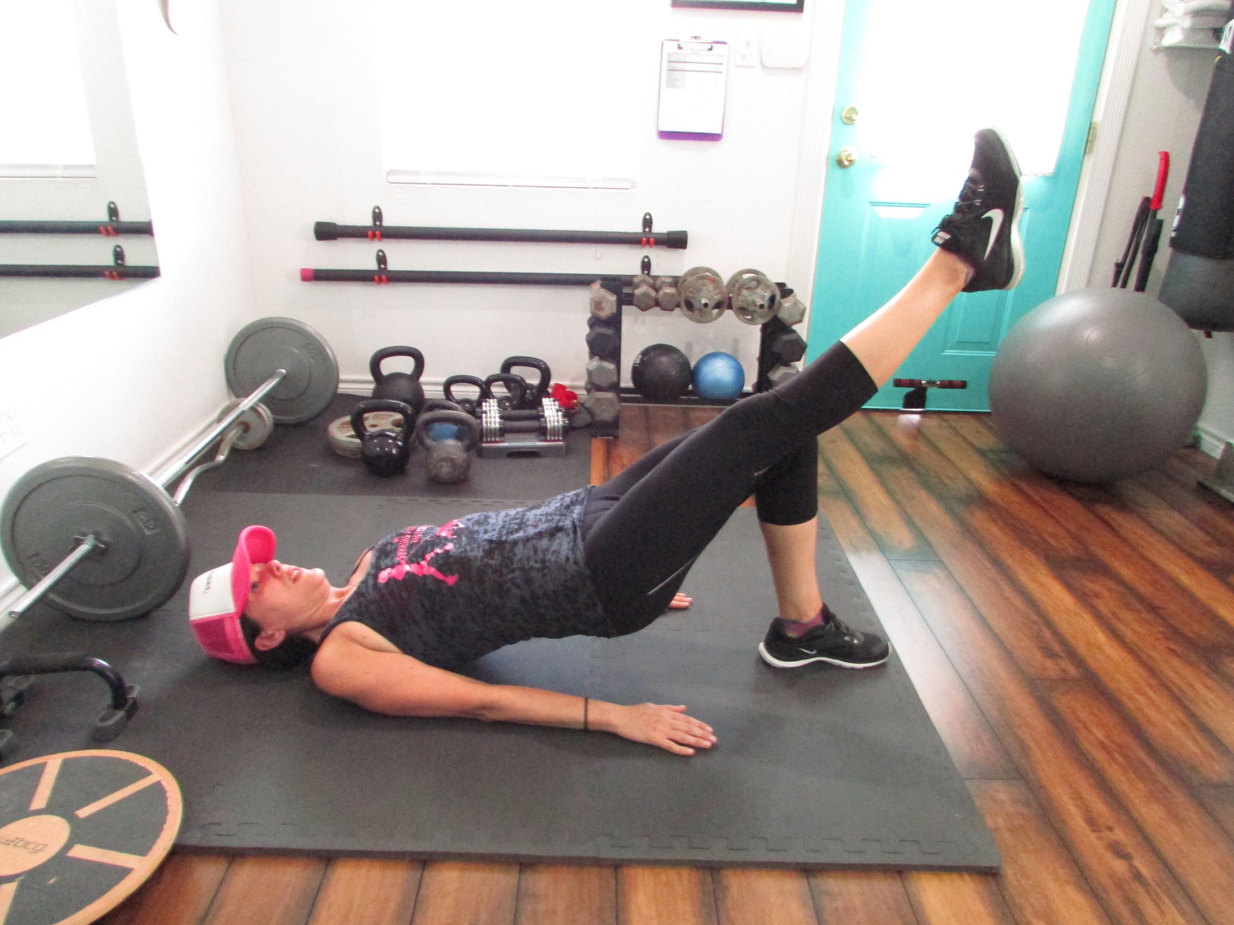 Lea Genders Fitness Floor Bridge