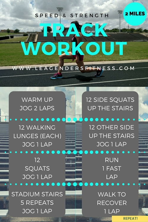 Workout Wednesday: Speed and Strength Track Workout for