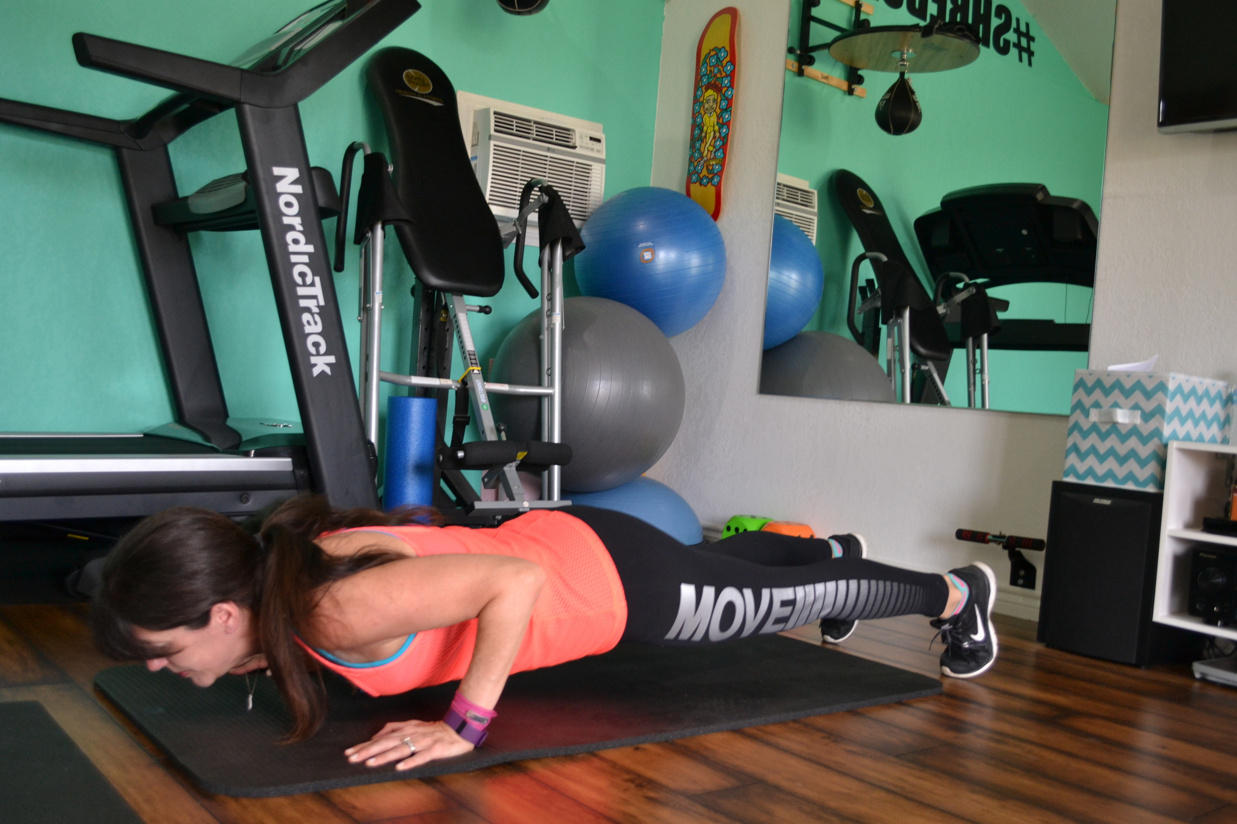 low push-up position