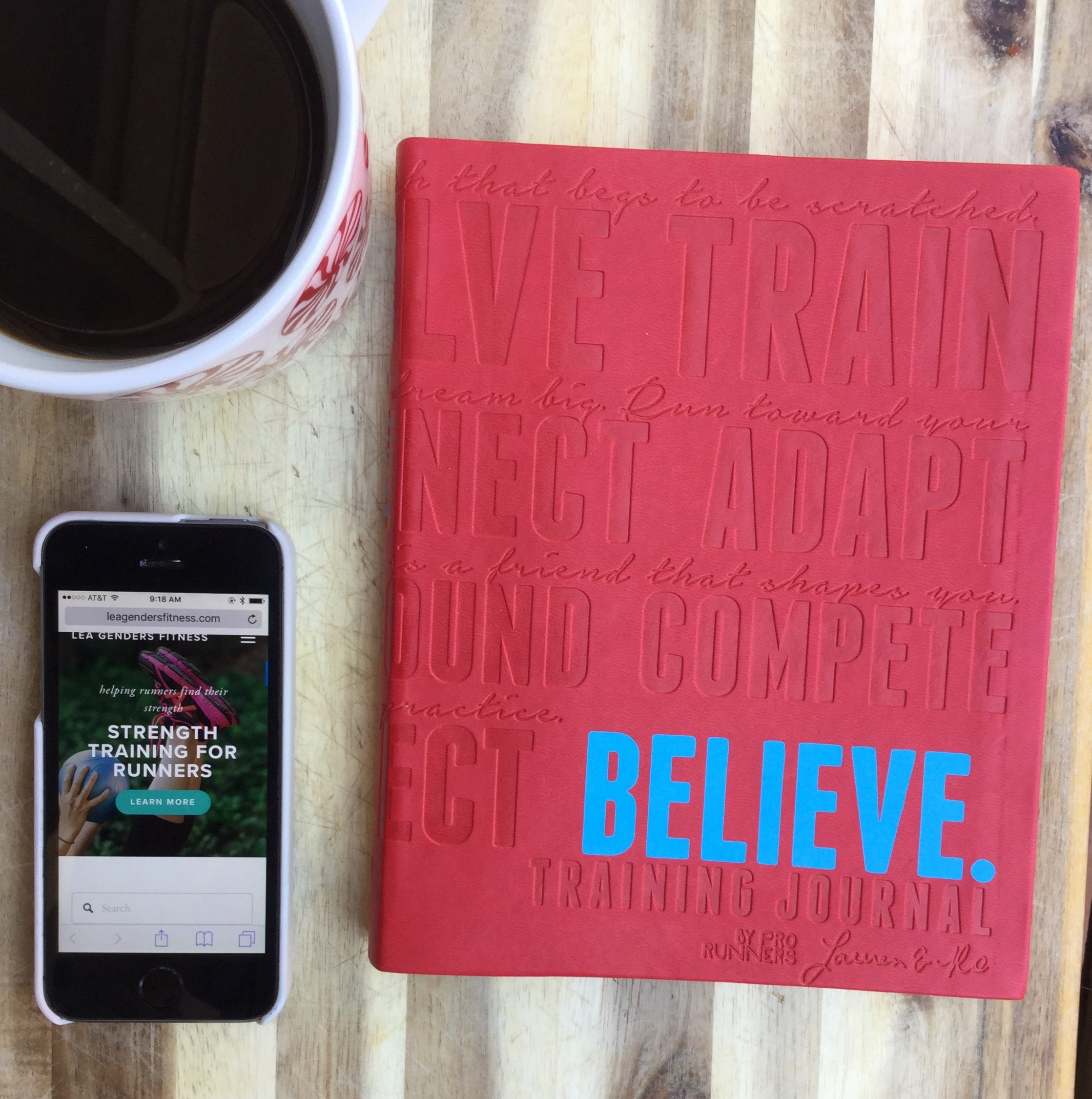Enter to win a believe training journal giveaway